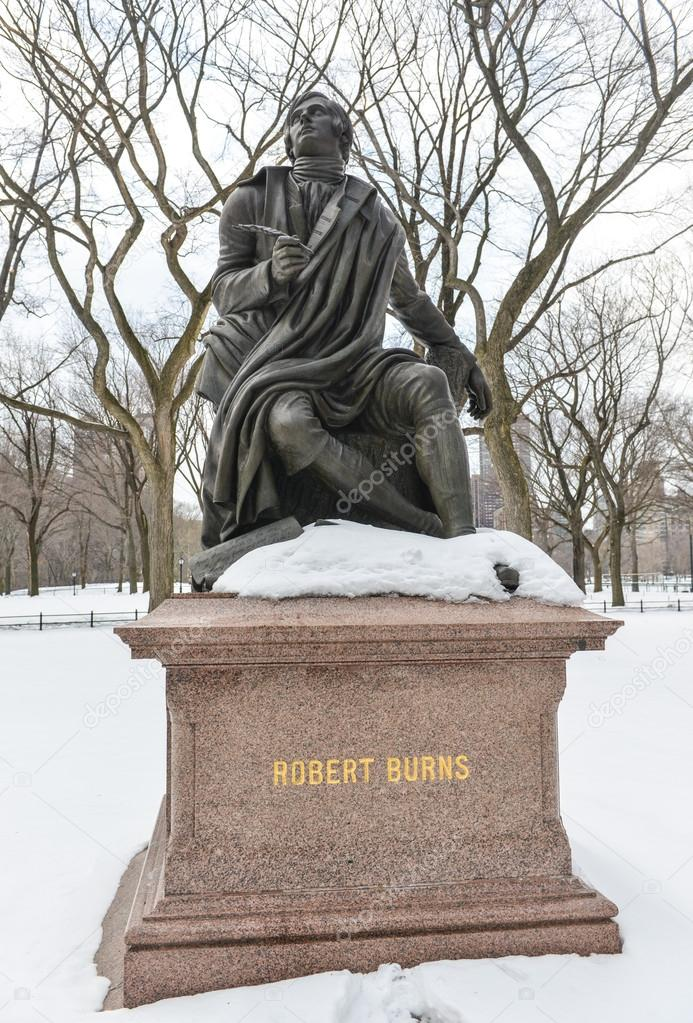 Robert Burns, Central Park, NYC