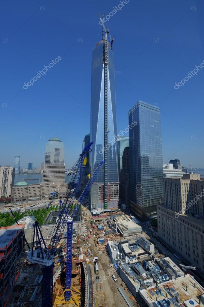 1 World Trade Center Construction – Stock Editorial Photo