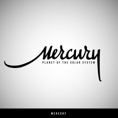 Mercury hand lettering - handmade calligraphy