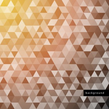 Seamless abstract hexagon background.