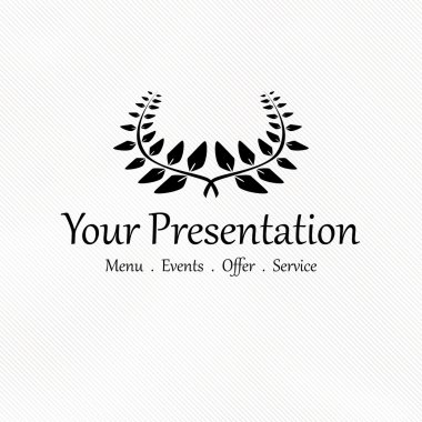 Vector design for your presentation