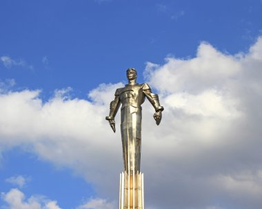 Monument to Gagarin - the first spaceman