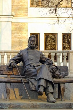 Monument of A.P. Chekhov in Zvenigorod