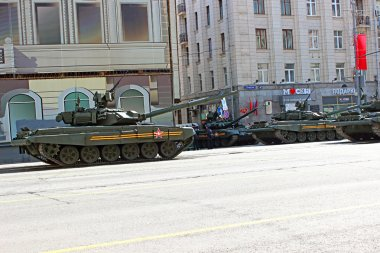 Military parade in Moscow