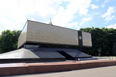 Memorial Synagogue in Moscow on Poklonnaya Hill in the Victory P
