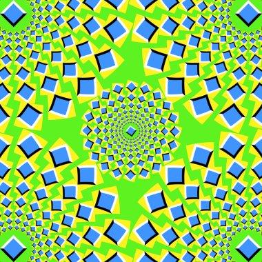 Pulsing squares