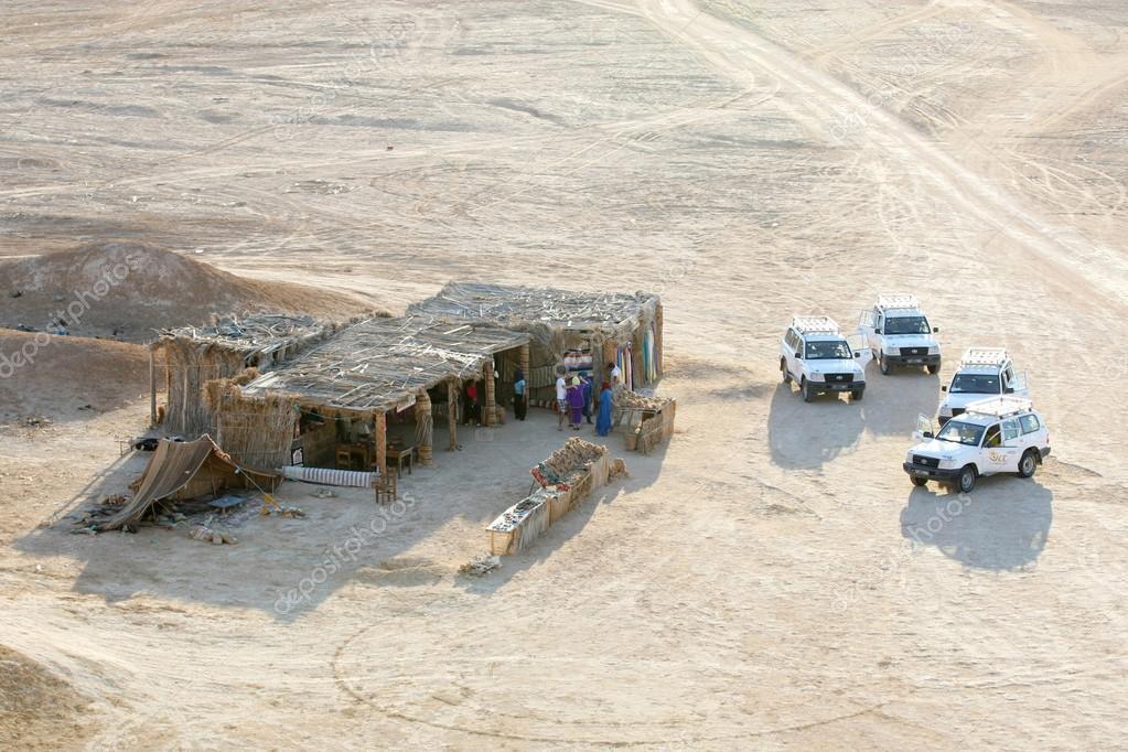Tourists at camel head rock