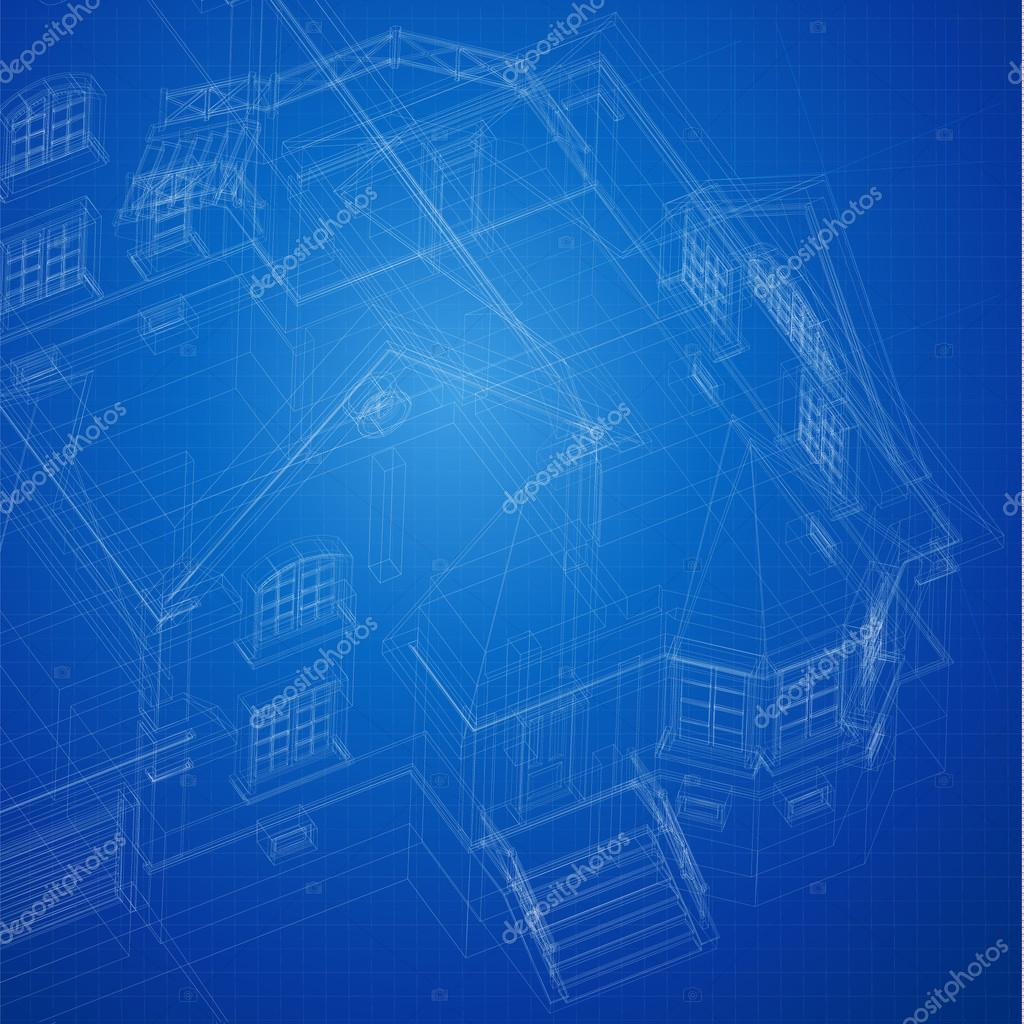 Urban blueprint with a 3d building model vector stock vector part of architectural project architectural plan technical project drawing technical letters architect at work architecture planning on paper malvernweather Image collections