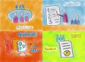 Ülés, moderátor, protokoll és emlékeztető
