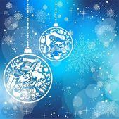 Vánoční přání s památky symboly