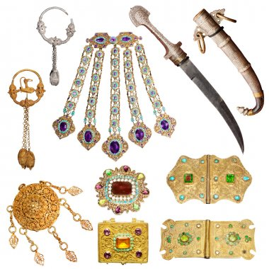 200 year old jewelery set