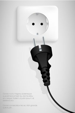 Plug the wire into the socket