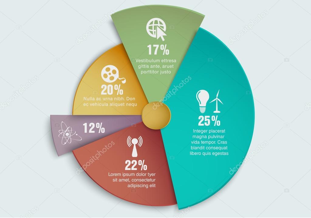 Business-Technologie-Energie-Diagramm — Stockvektor © PanaceaDoll ...