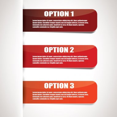 Red paper options