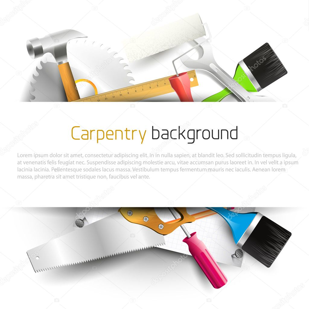 Carpentry background - photo#37