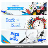 Fotografie Back to school banners