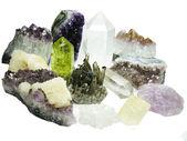 Fényképek Ametiszt, citrin kvarc meghatározott geodéziai geológiai kristályok