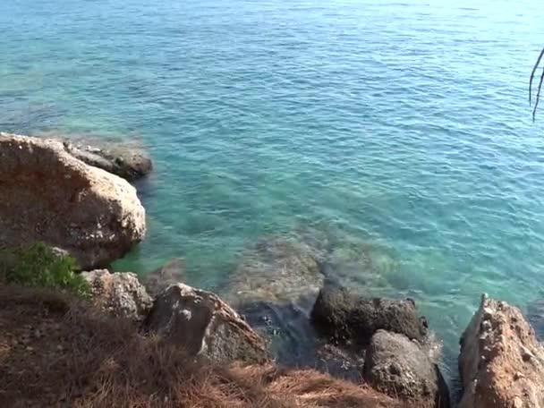 A Földközi-tenger partján partra a víz felületi