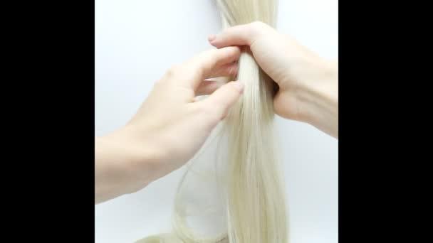 Kartáčovací zvýraznění vlasy textury pozadí abstraktní