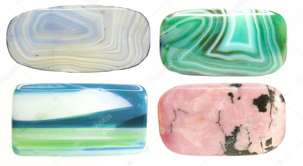 semigem geological minerals crystals