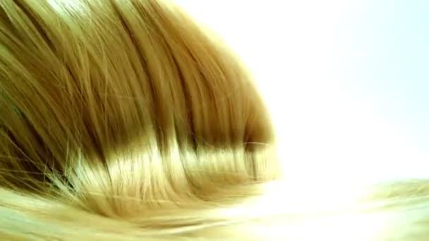 blonďatá zvýraznění vlasy textury pozadí