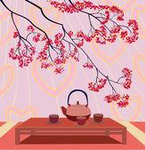 Fotografie Valentines Day .Tea ceremony .