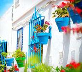 Torremolinos. Costa del Sol, Andalucia. Typical White Village