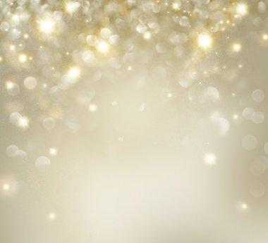 "Картина, постер, плакат, фотообои ""golden christmas holiday background with blinking stars "", артикул 36297069"