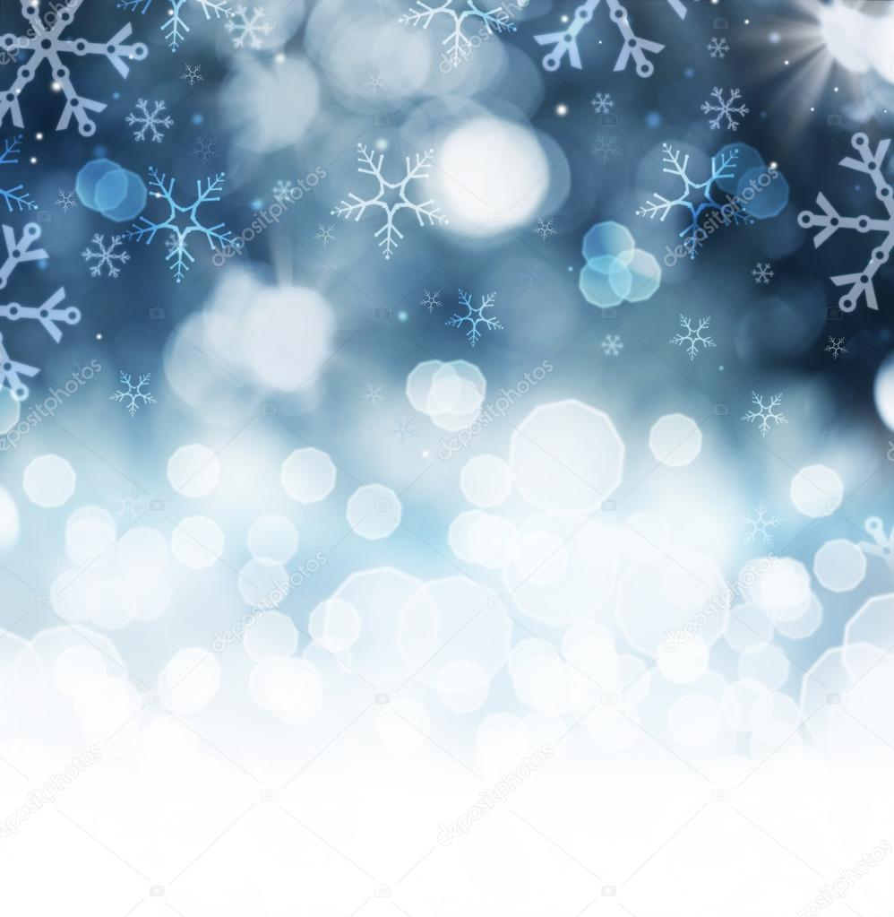 winter holiday snow background. christmas abstract backdrop — stock