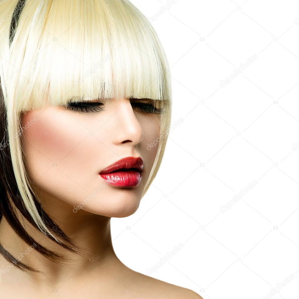 Imagenes Pelo Corto Hermosa Moda Peinado De Mujer De Pelo Corto - Pelo-corto-de-moda