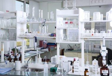 Chemical laboratory background
