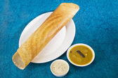 Indický snack masala dosa