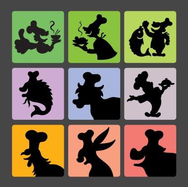 Chef Silhouette Symbols 2