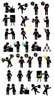 Business Pictogram Symbols