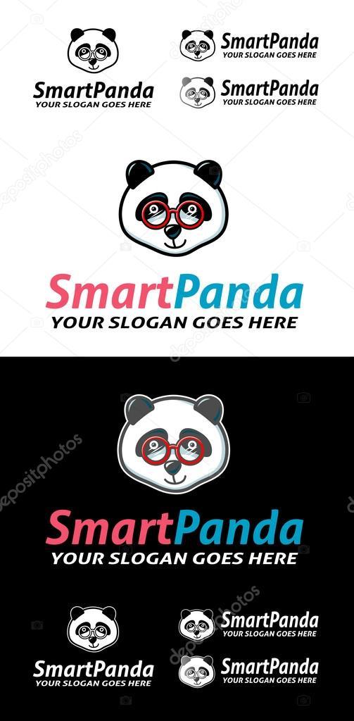 Smart Panda Symbol Stock Vector Cundrawan703 46309549