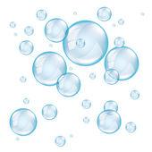transparentní mýdlová bublina foto realistická vektorová