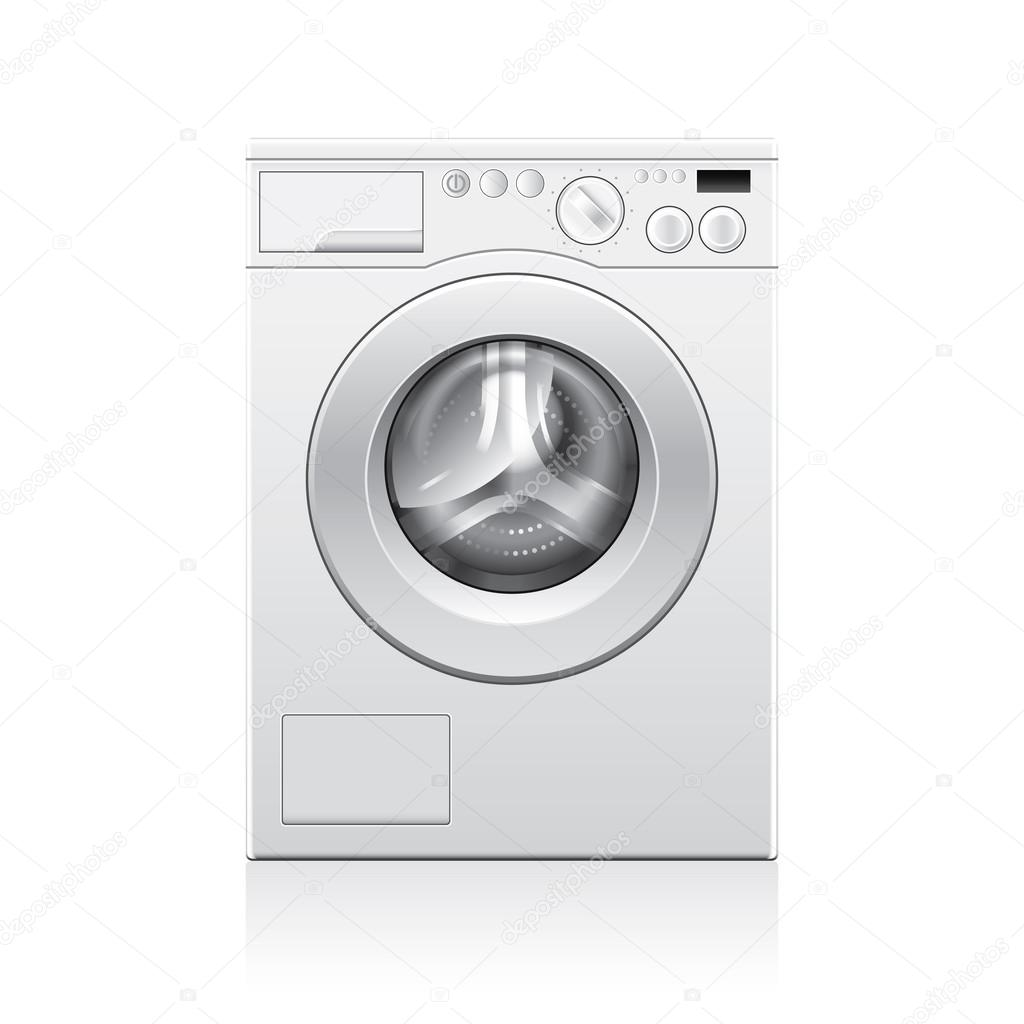 Washing machine vector illustration
