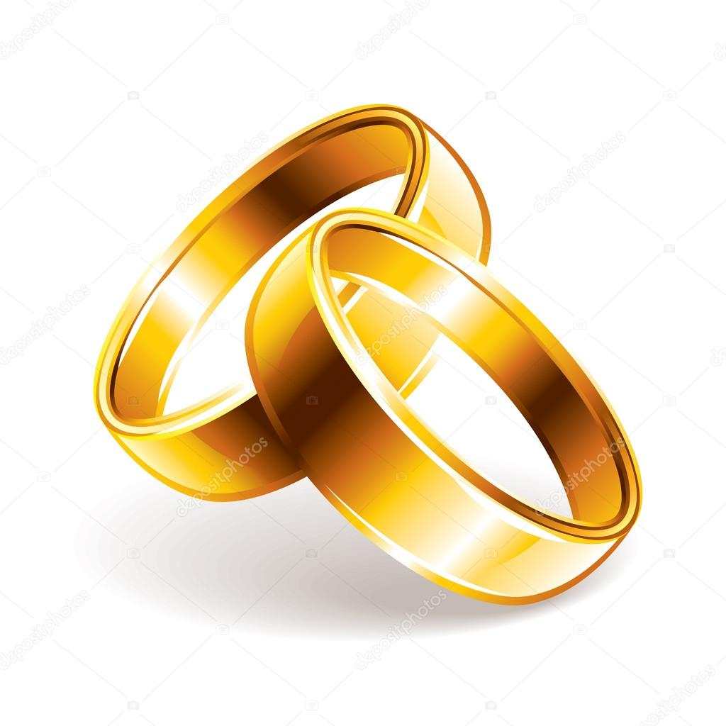 Wedding rings vector illustration Stock Vector andegraund548
