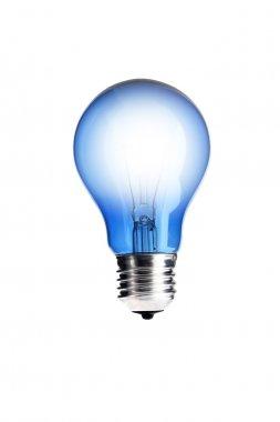 Lamp on white background