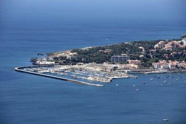 Bay of Cascais, photo of the famous beach in Cascais city, Portugal