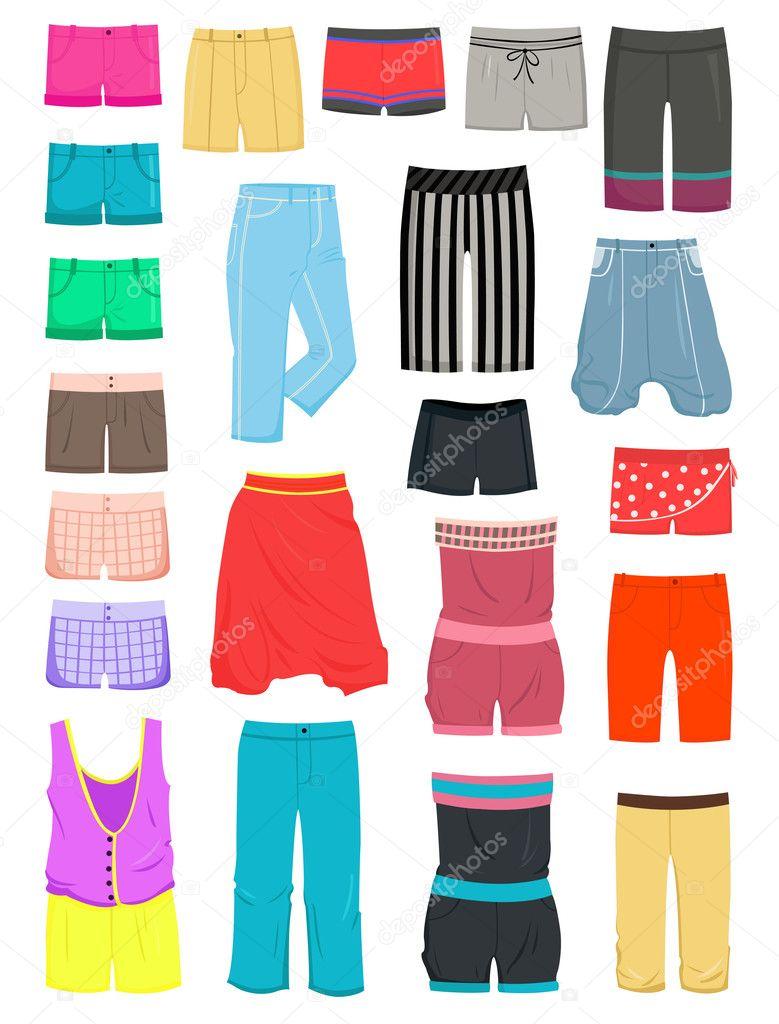Áˆ Shorts Animados Imagenes De Stock Vectores Shorts Descargar En Depositphotos