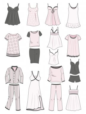 Pajamas and nighties