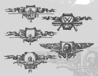 Heraldry. Vector illustration