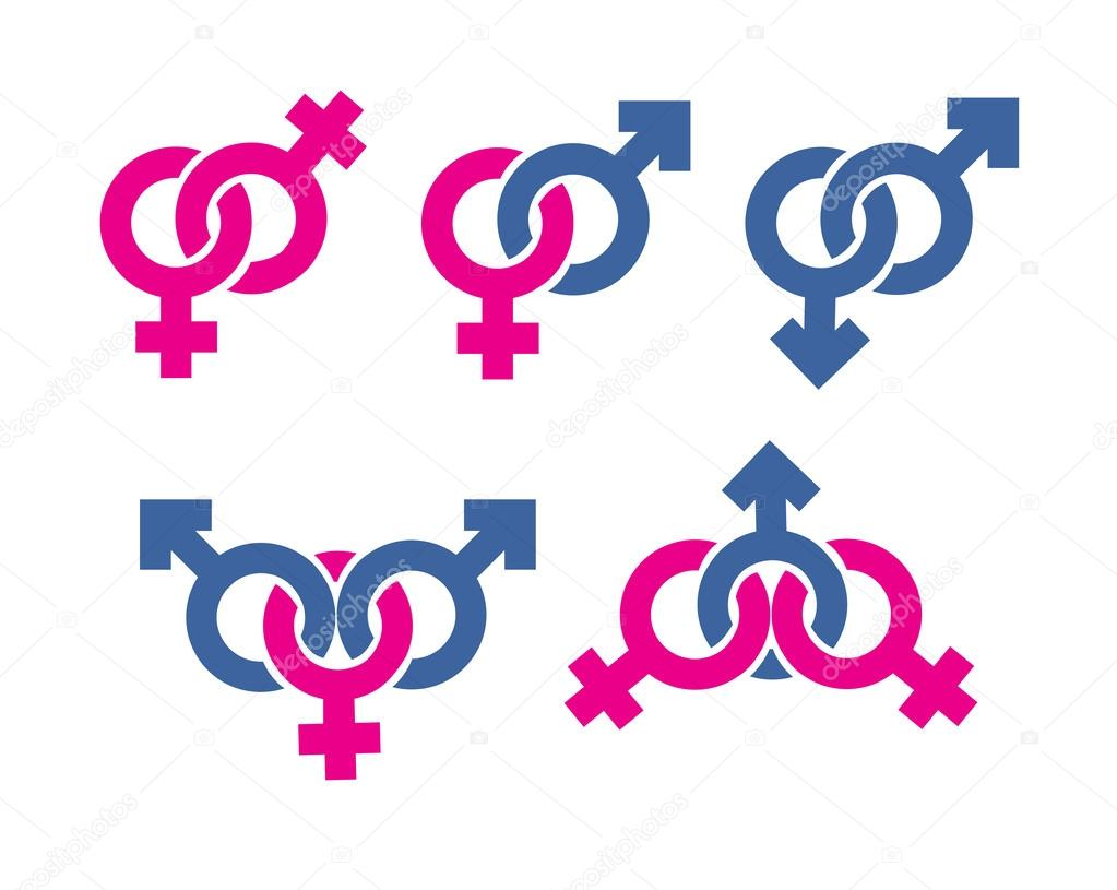 Male And Female Symbols Combination Stock Photo Sergeypykhonin