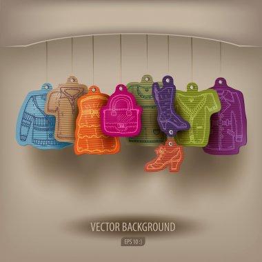 Boutique. Vector illustration