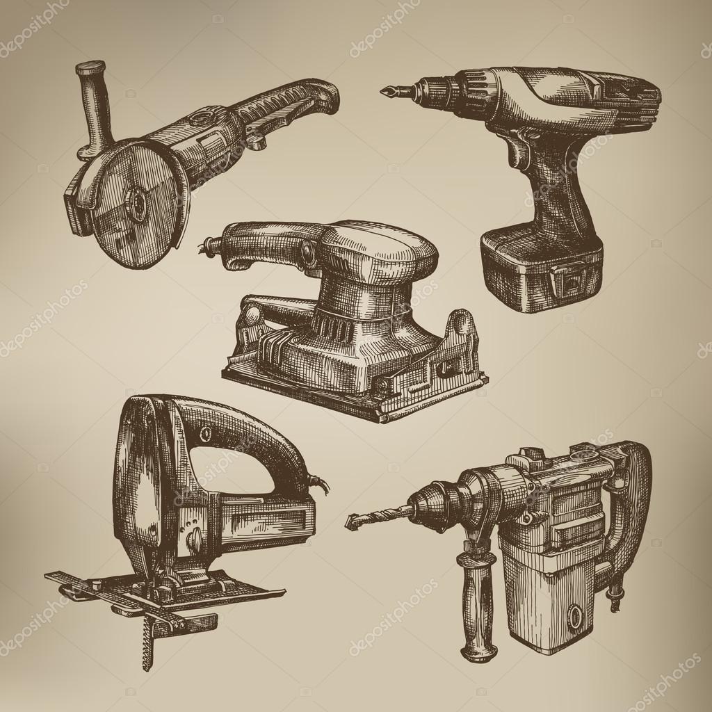 Tools. Vector format
