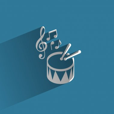 Music. Vector format