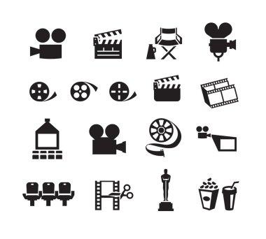 Cinema. Vector format