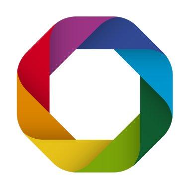 Logo design in eight colors