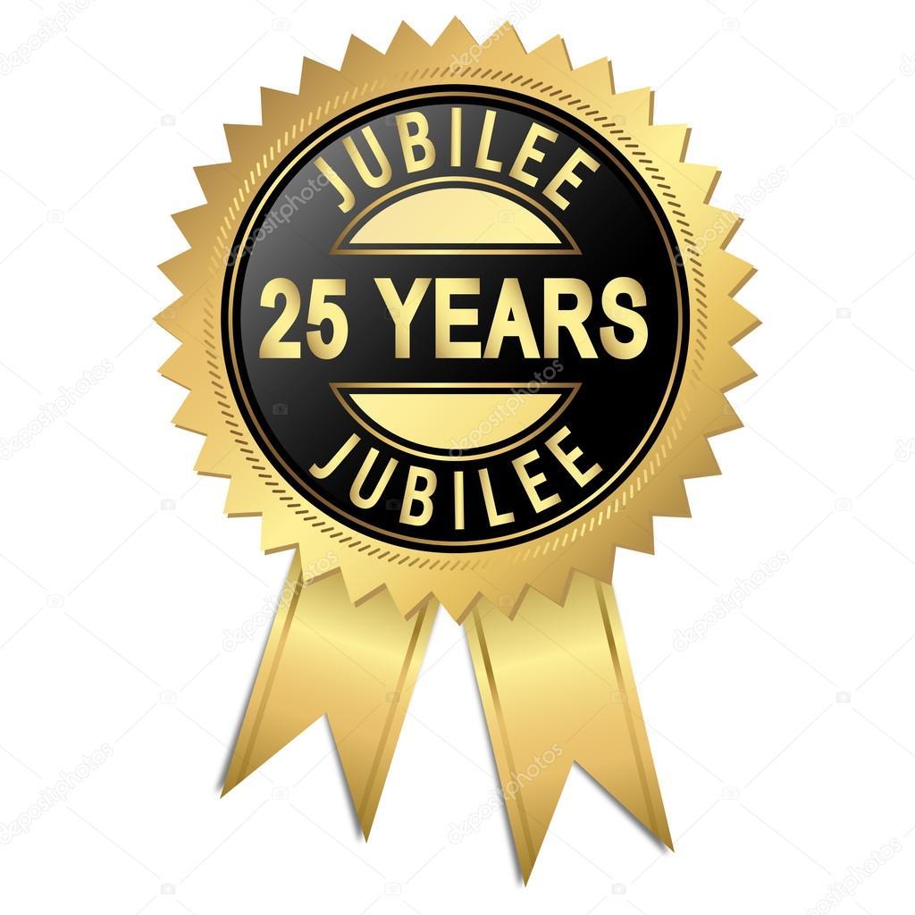 Voorkeur jubileum - 25 jaar — Stockvector © opicobello #47451649 &OB38